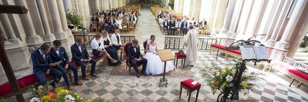 cathédrale de Bayeux - mariage