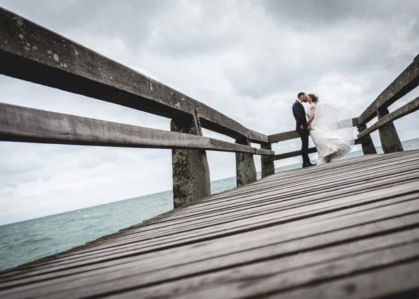 séance photo mariage par vent force 6