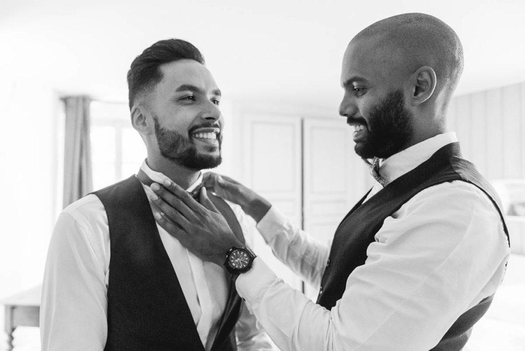 préparatifs mariage – N'oublions pas les hommes