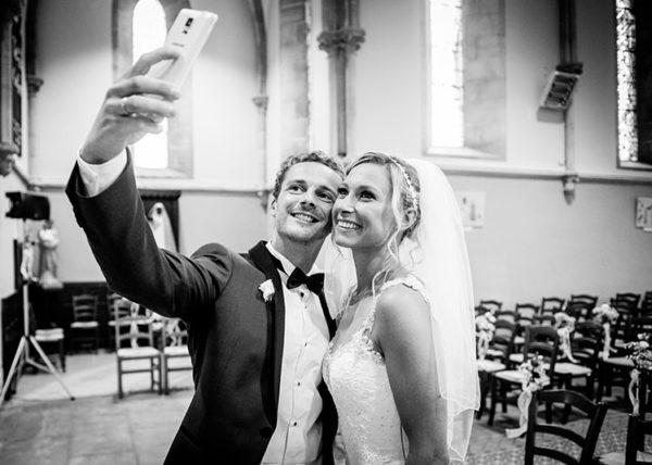 Selfie de mariage