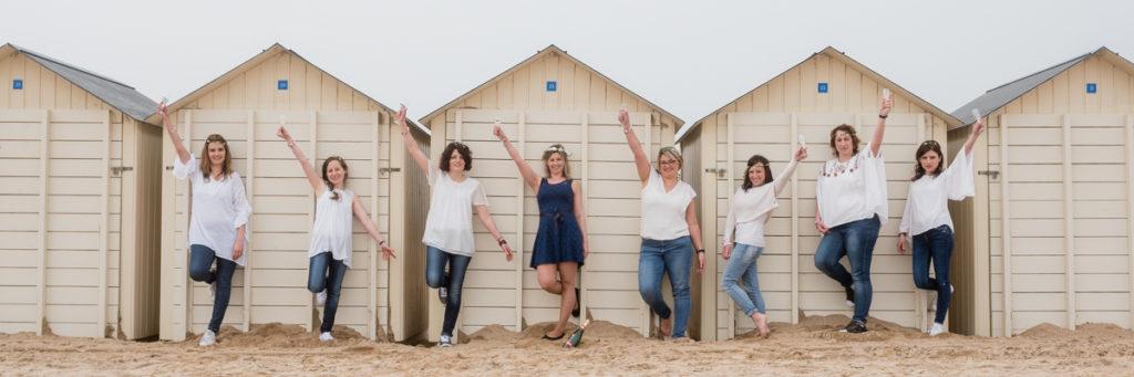 evjf ouistreham cabines de plage
