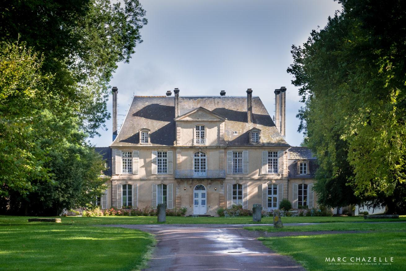 Vue du chateau de Martragny - Normandie