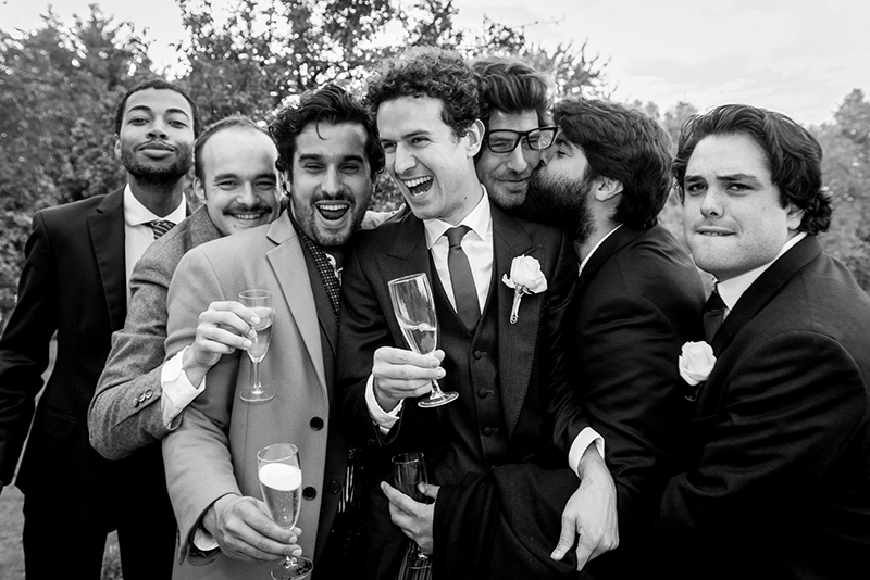 mariage copains