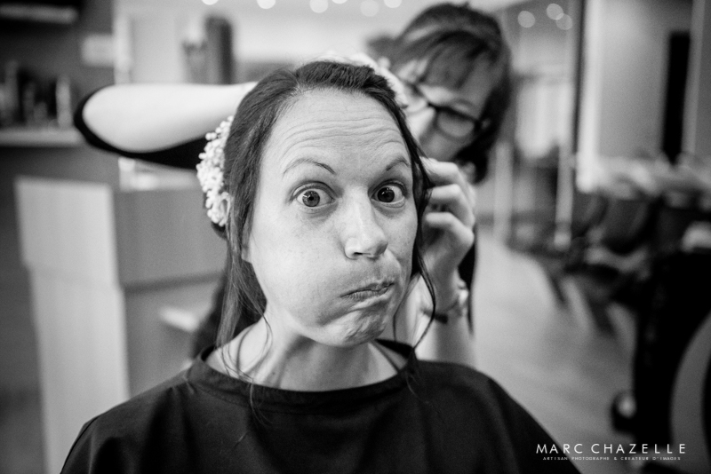 mariage coiffure humour