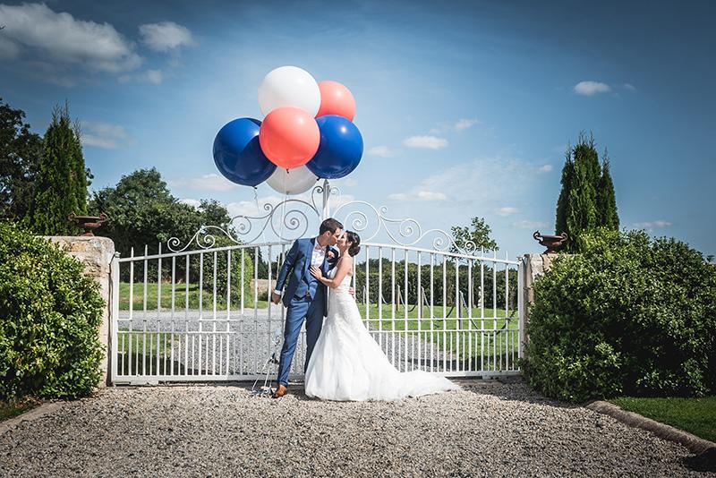 Photo de couple mariage manoir de chivré