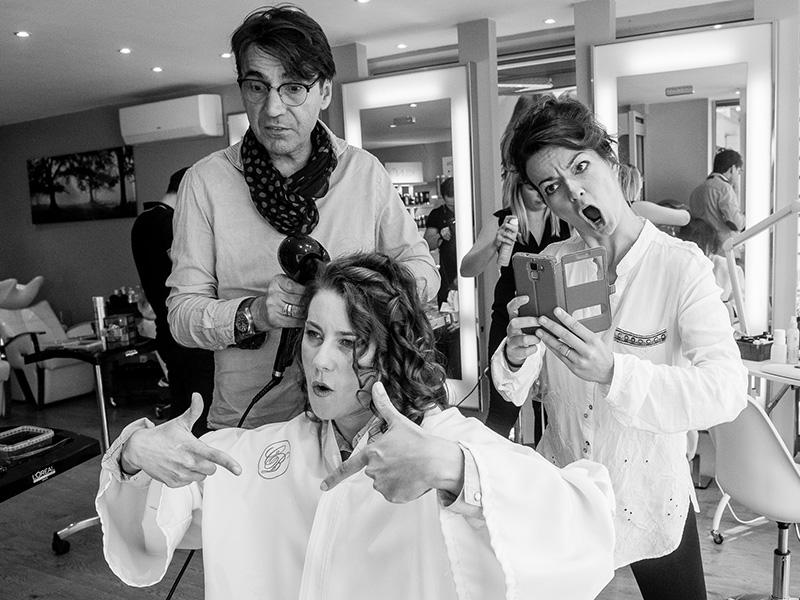 humour chez le coiffeur