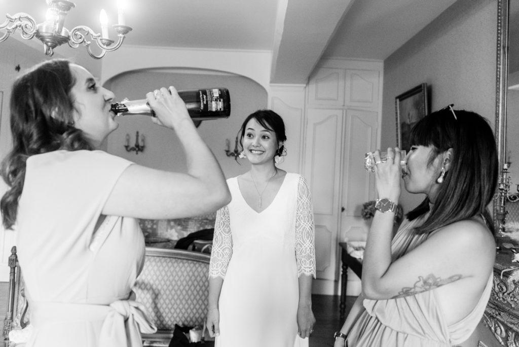 mariage préparatif humour alcool