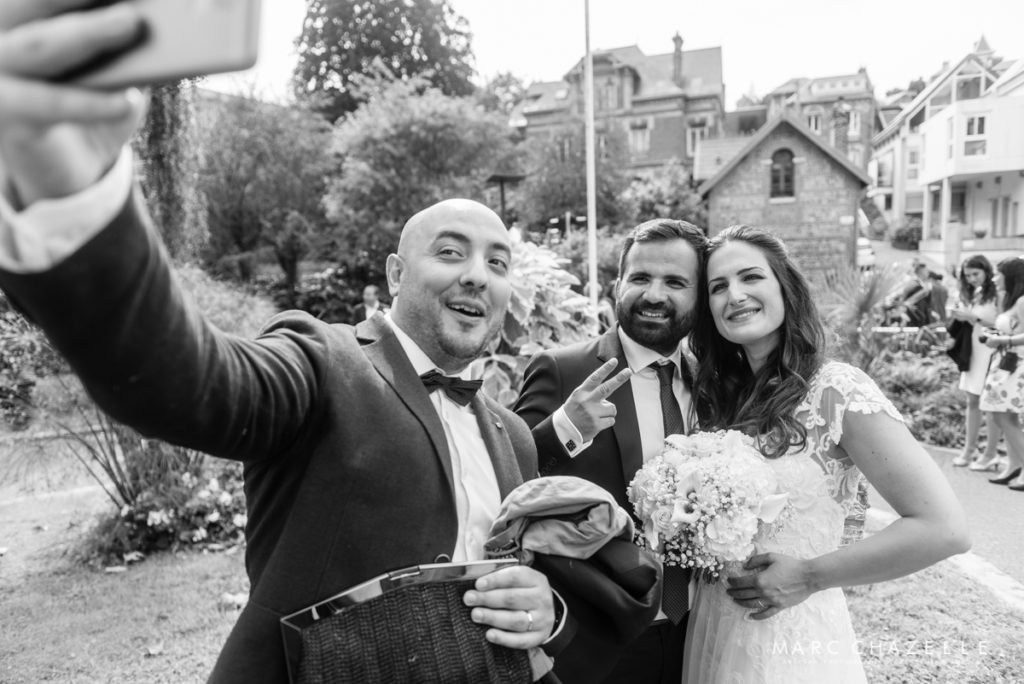 selfie mariage le havre