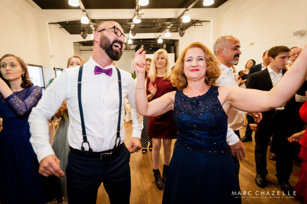 Ambiance festive mariage sainte adresse