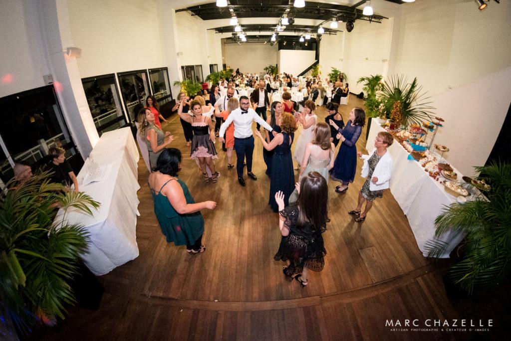 soirée dansante au palais des régates