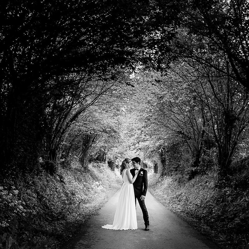 Mariage chmpêtre en normandie