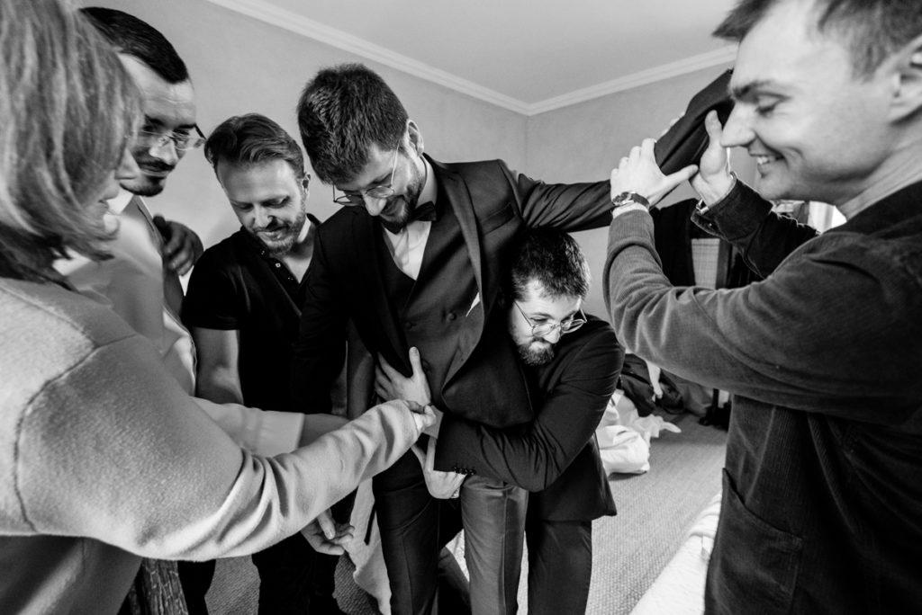 mariage humour et préparatifs