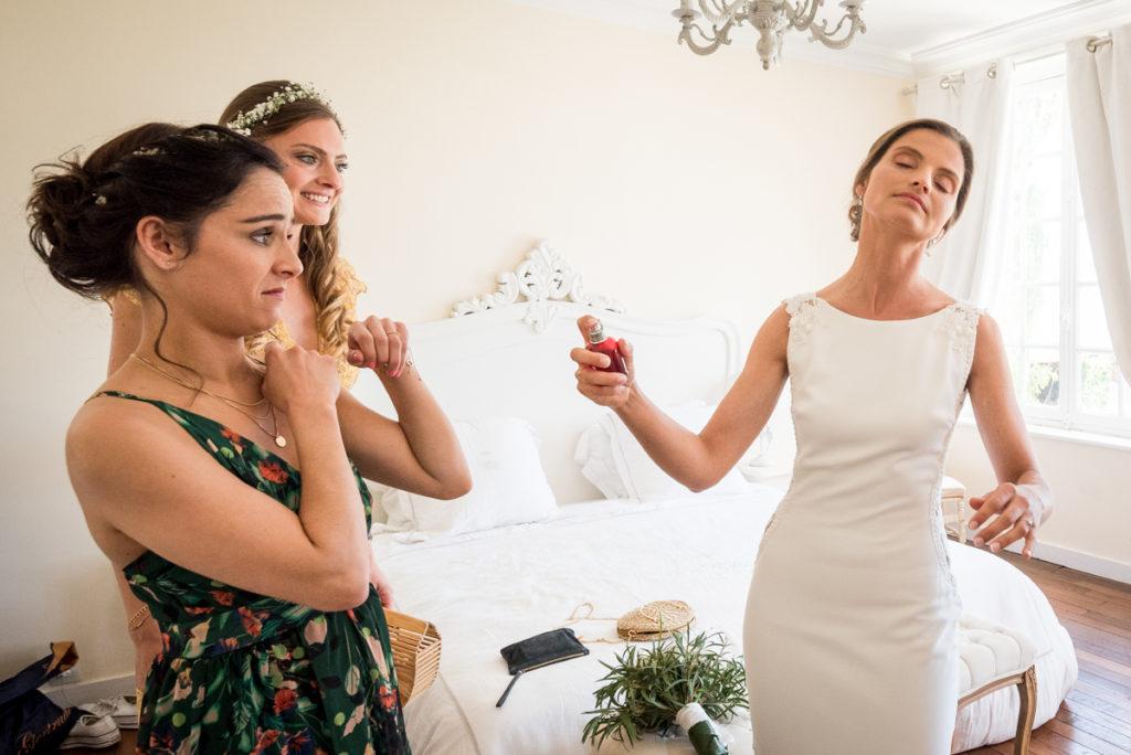 parfum mariage préparatifs humour