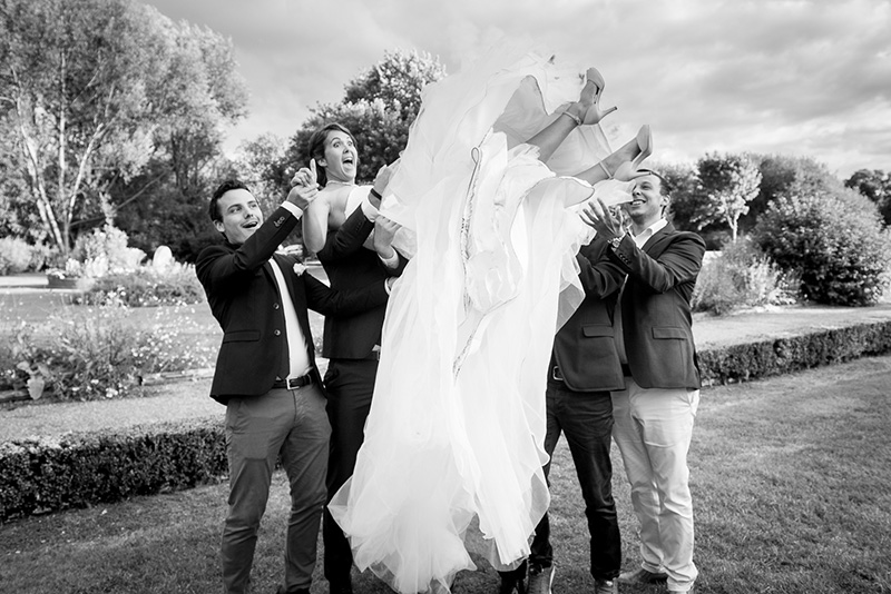 Lancé de mariée