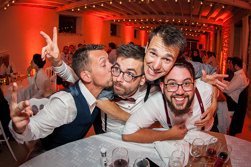 photo de soirée mariage