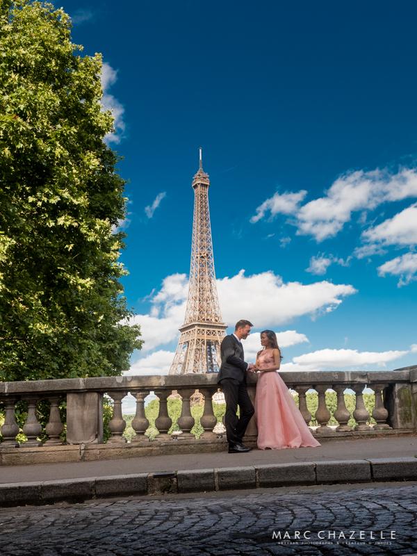 Tour Eiffel du pont Bir Hakeim