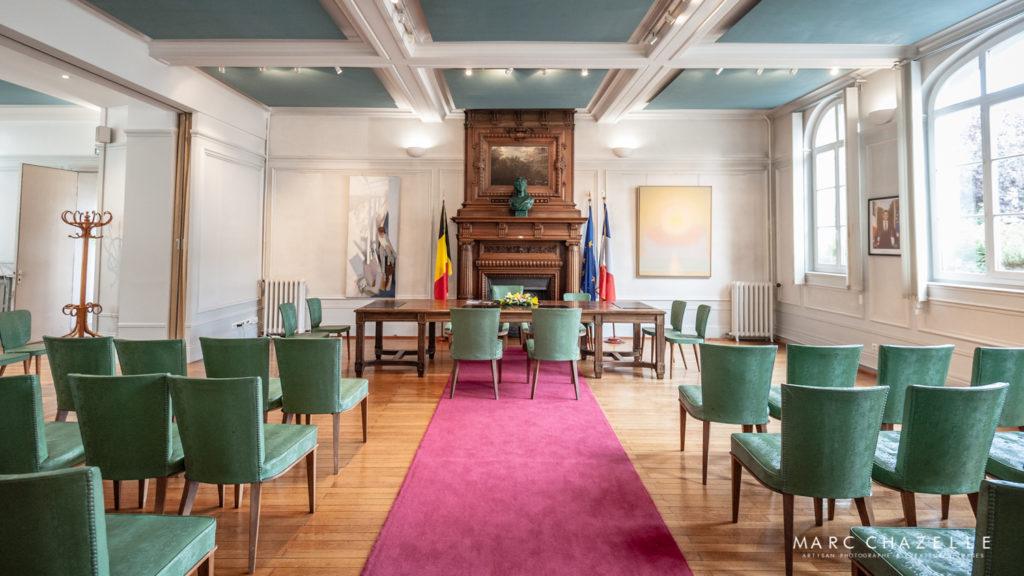 Salle des mariages de la mairie de Sainte-Adresse