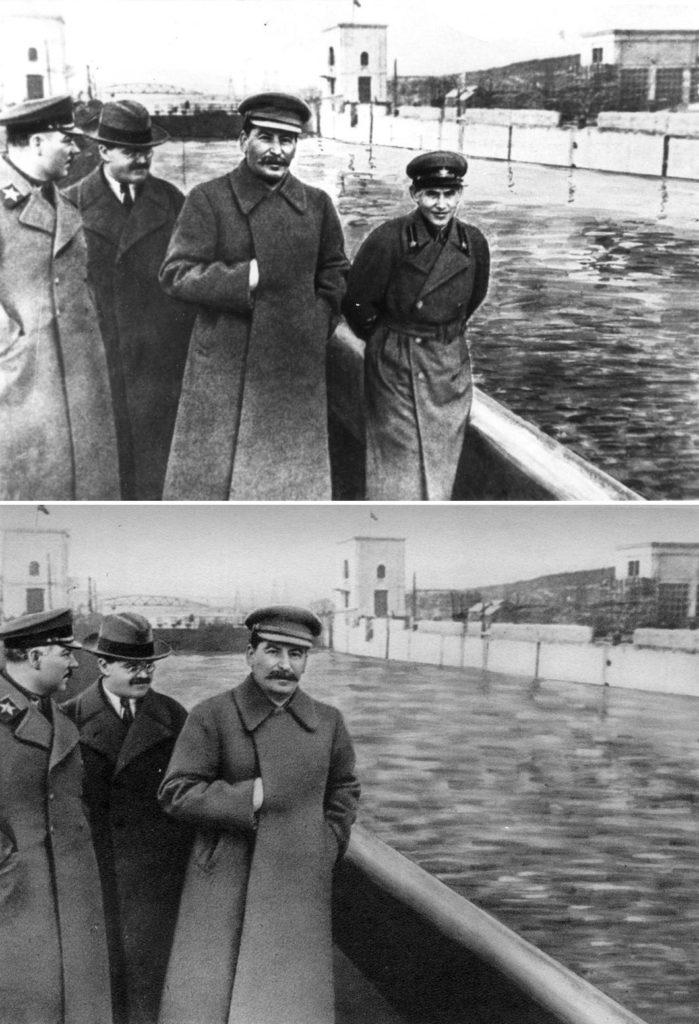Staline trucage photo