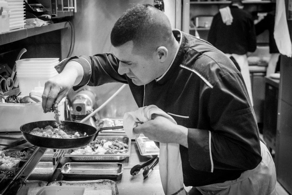 Mickael chef du Gourmet