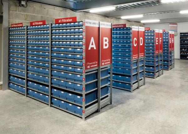photo industrielle unité de stockage