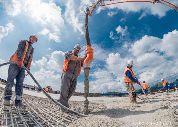 Vue à 360° du chantier NGE serqueux