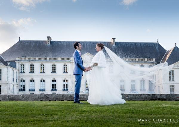 mariage à l'abbaye de valasse