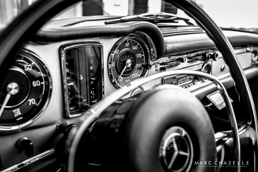 Mercedes 280 SL Pagode intérieur
