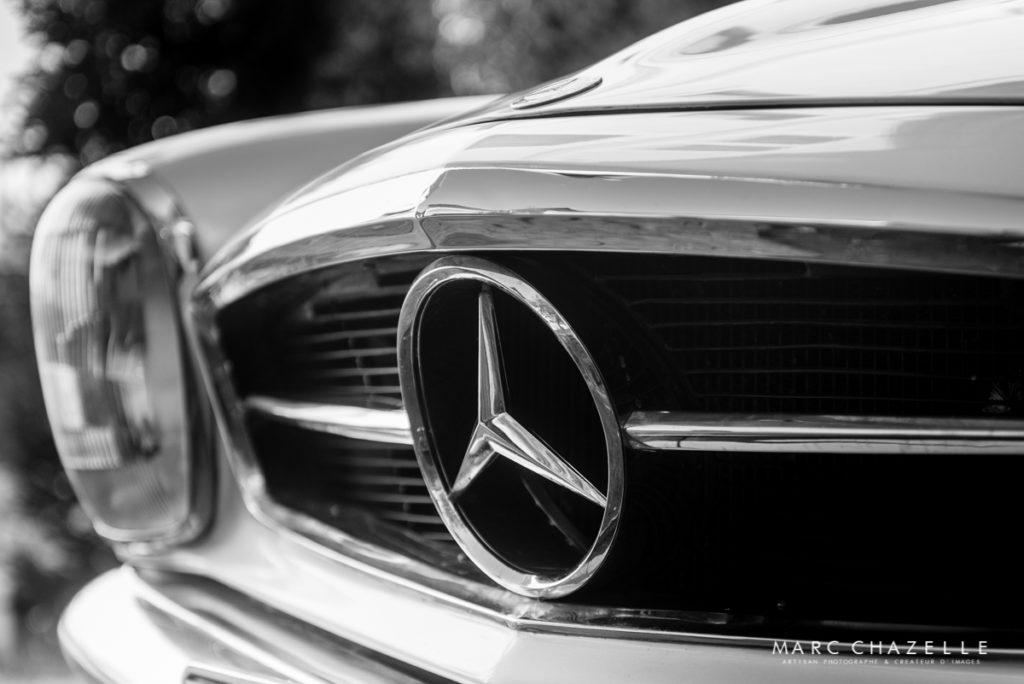 Mercedes 280 SL Pagode calandre