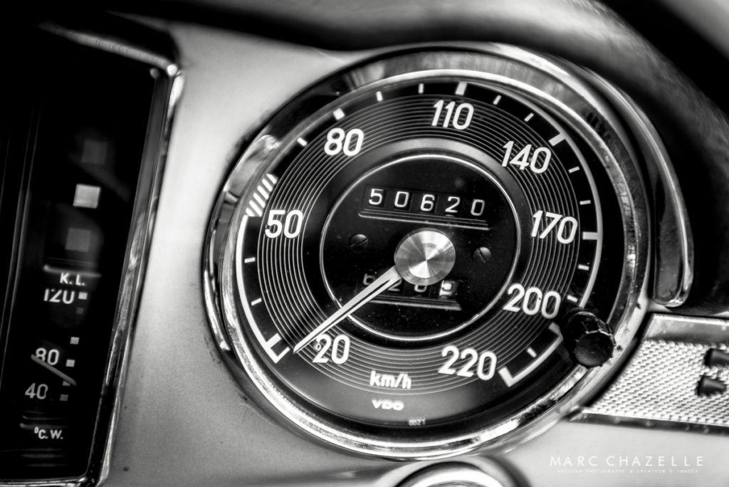 Mercedes 280 SL Pagode compteur