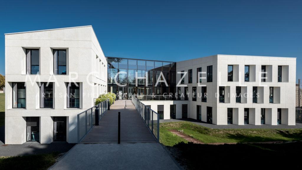 annexe du conseil régional de Normandie à Caen