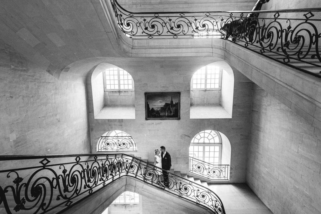 mariage a la mairie de Caen Normandie Marc CHAZELLE photographe