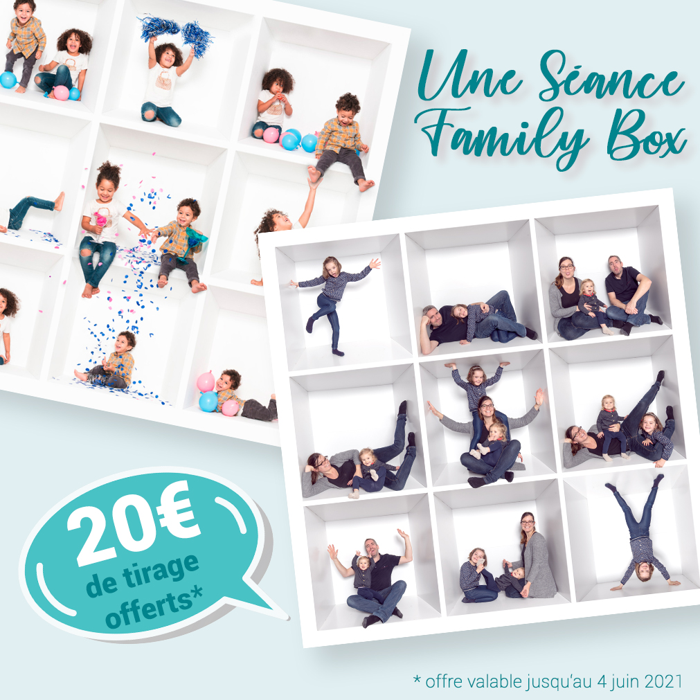Family box pour la fête des mères
