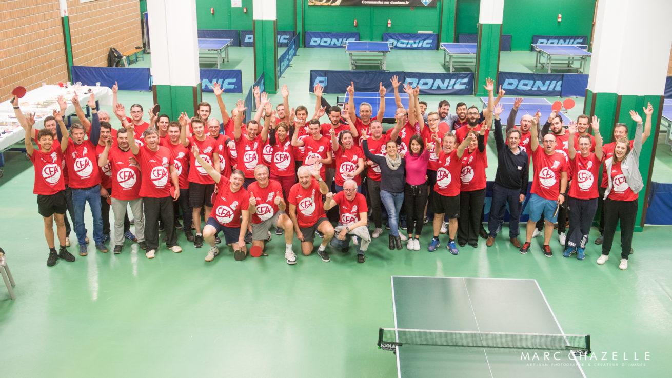 tournoi des partenaires du Caen TTC