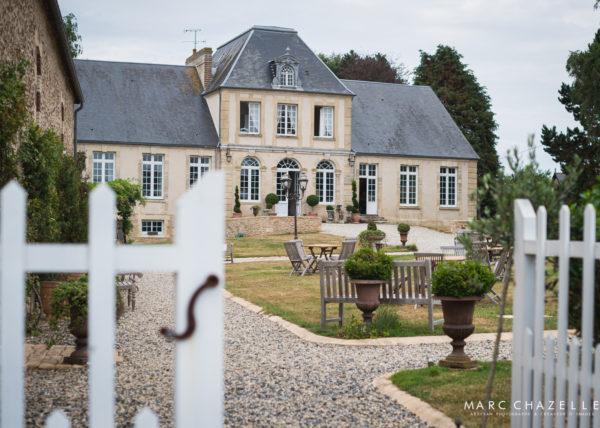 Manoir de chivré - salle de réception en Normandie
